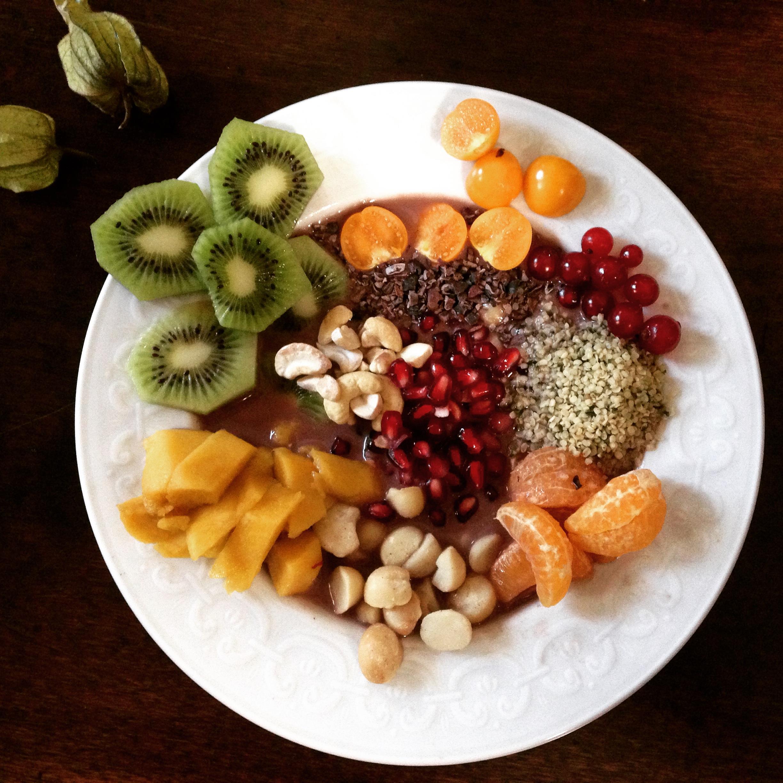 acai fruit fruit punch